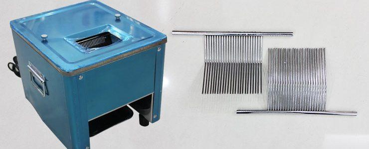 Công dụng của bộ lược dao trong máy cắt thịt